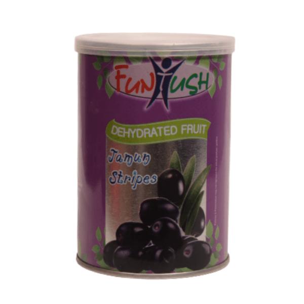 Dehydrated Jamun Fruit Stripes Tin Box