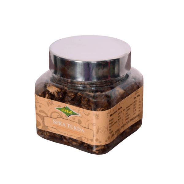 Dizzle Supari Mouth Freshener Seka Tukda 90g container