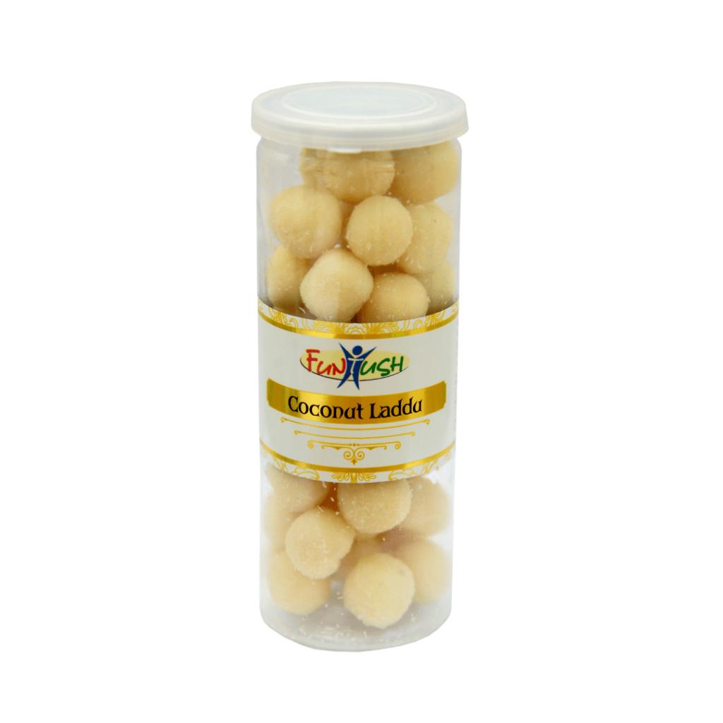 Funtush Coconut Laddu Can Bottle